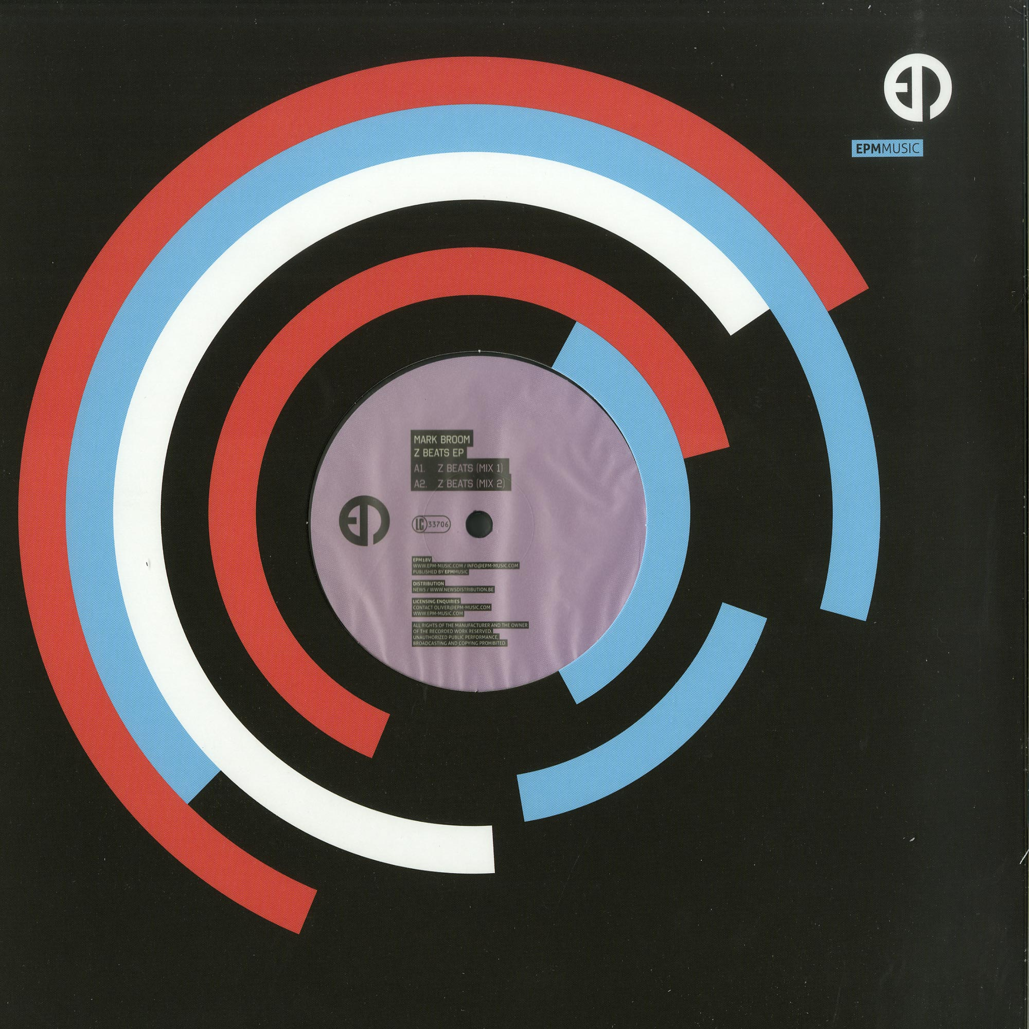 Mark Broom - Z BEATS EP