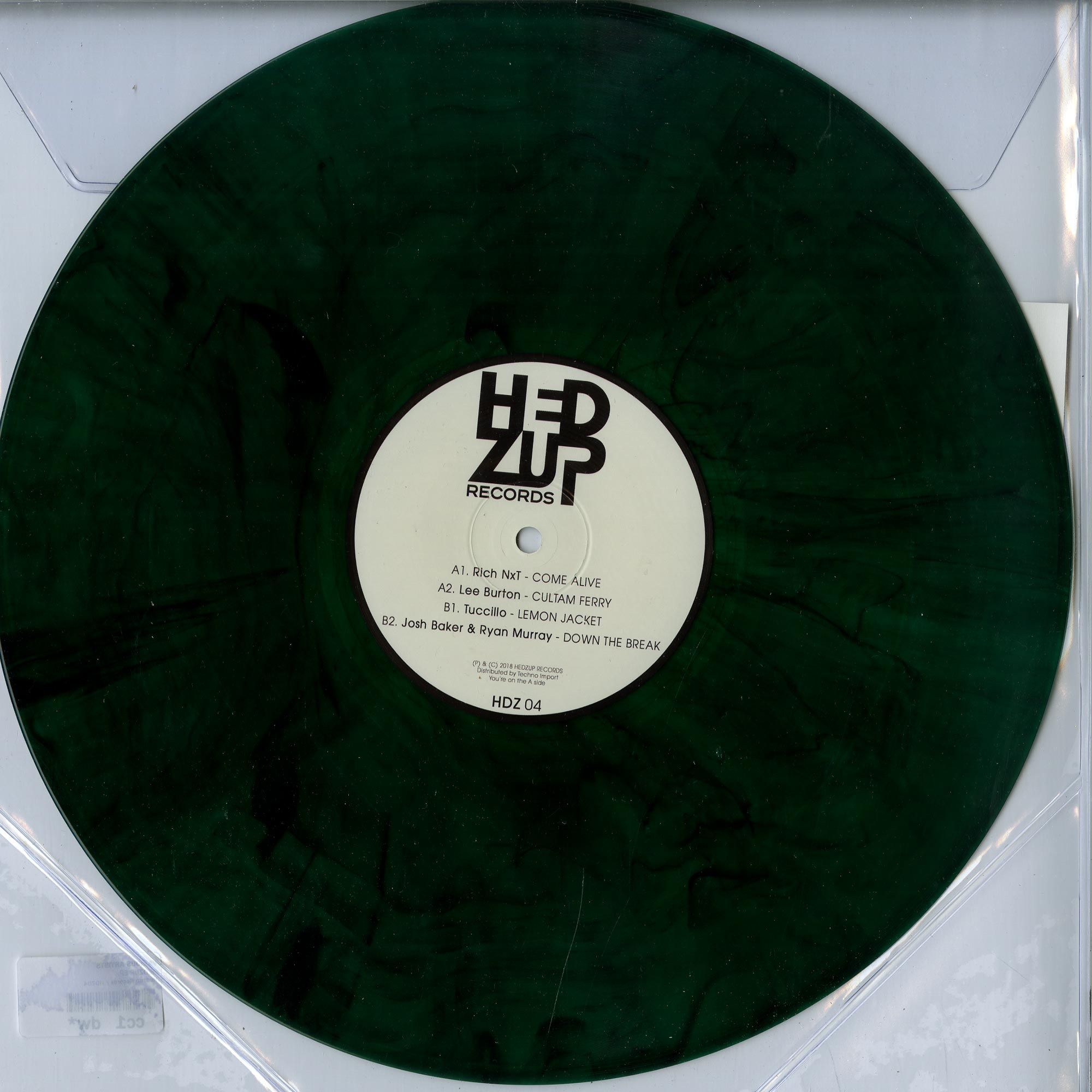 Various Artists - HEDZUP EP