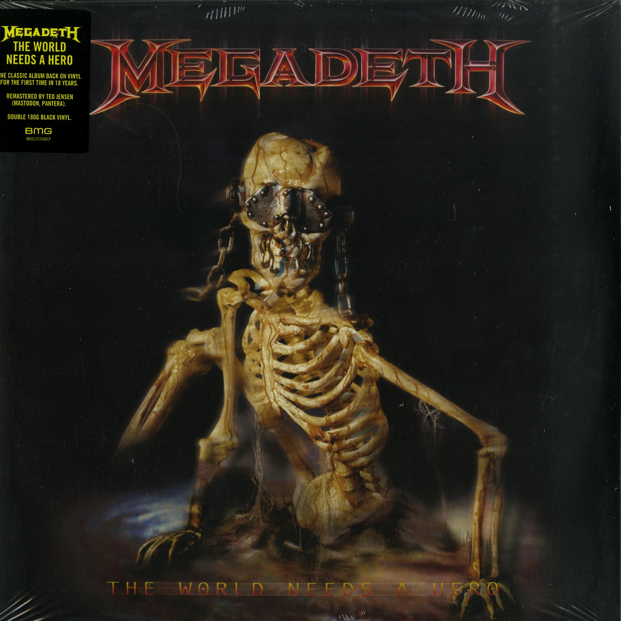 Megadeath - THE WORLD NEEDS A HERO