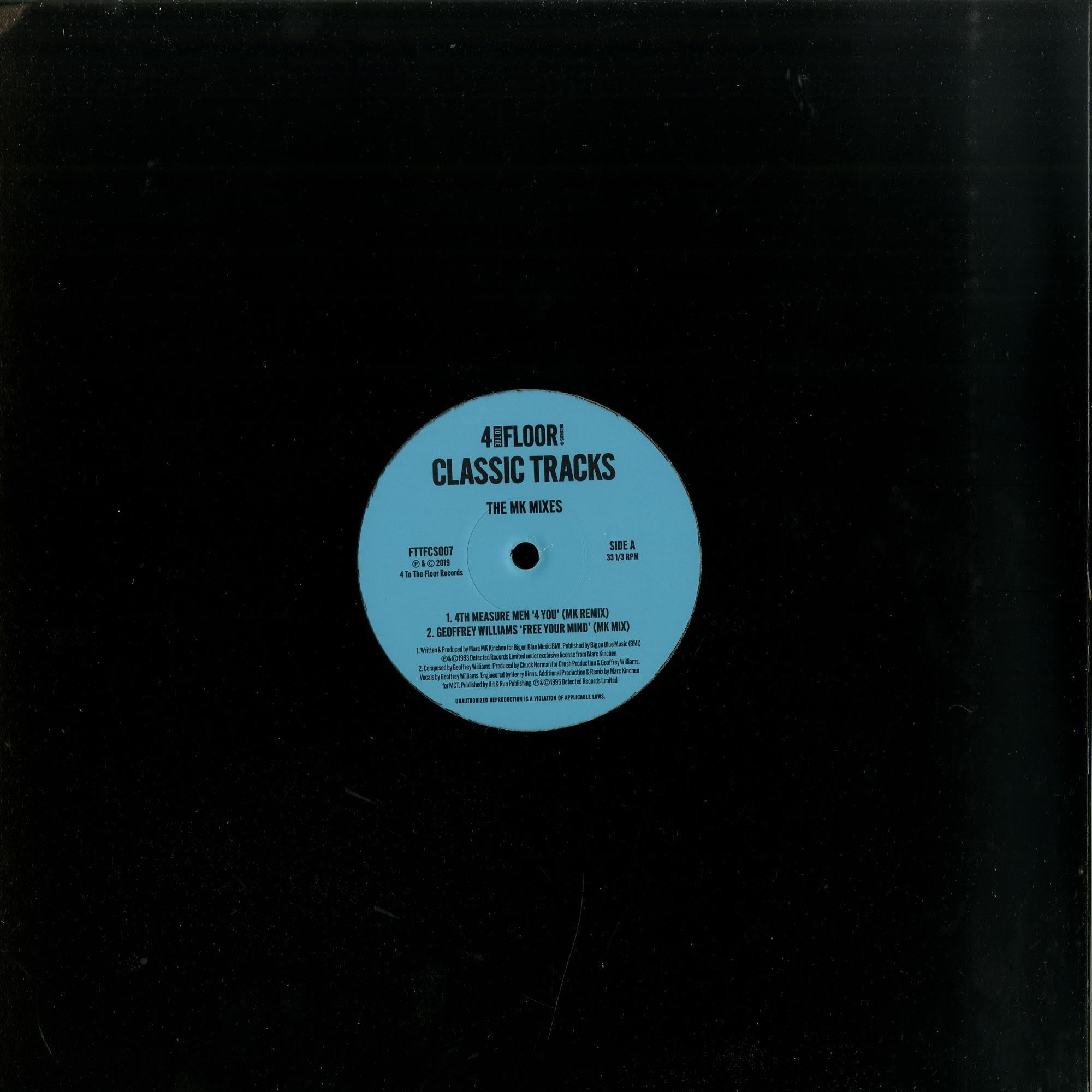 Various Artists - CLASSICS VOLUME 6 THE MK MIXES