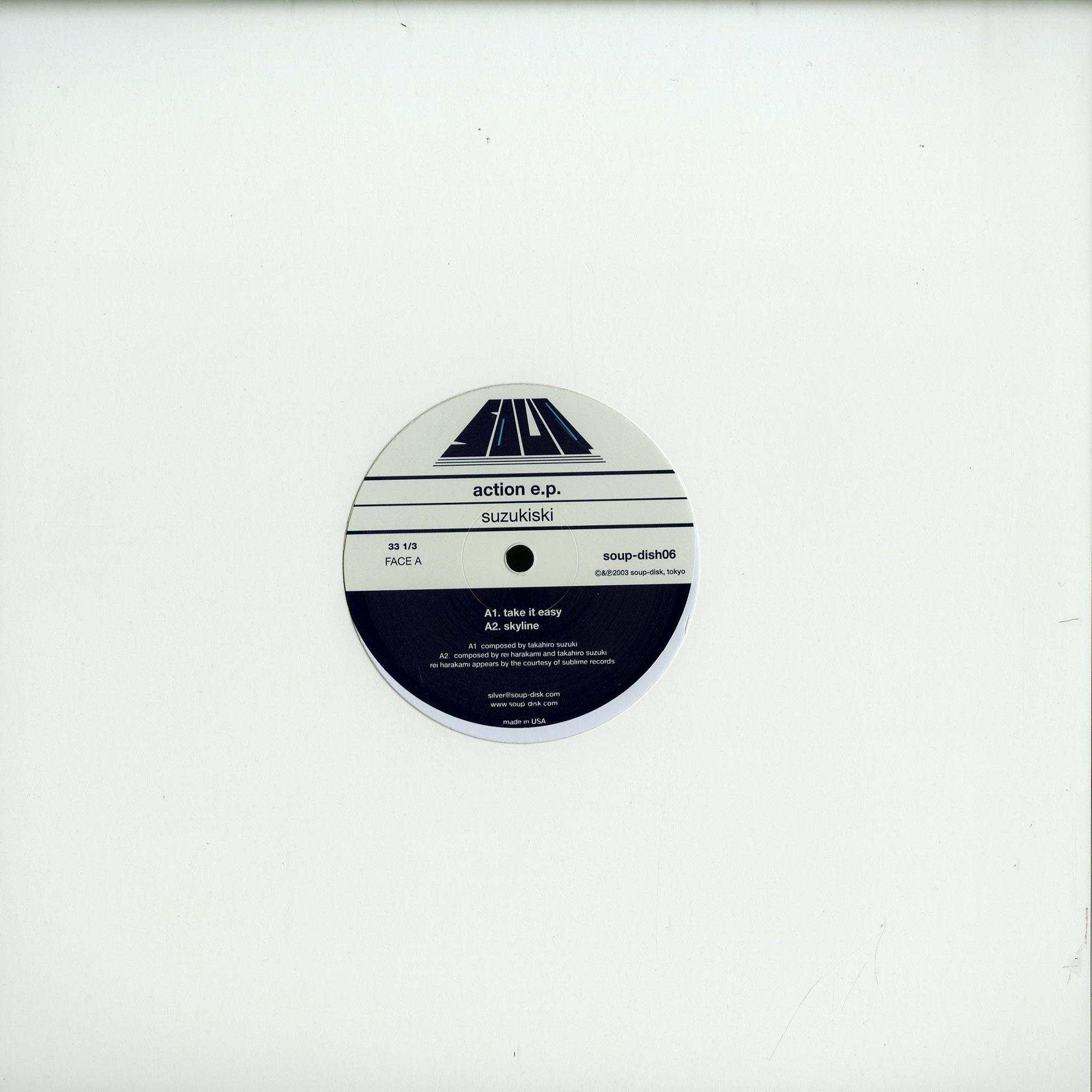 Suzukiski - ACTION EP