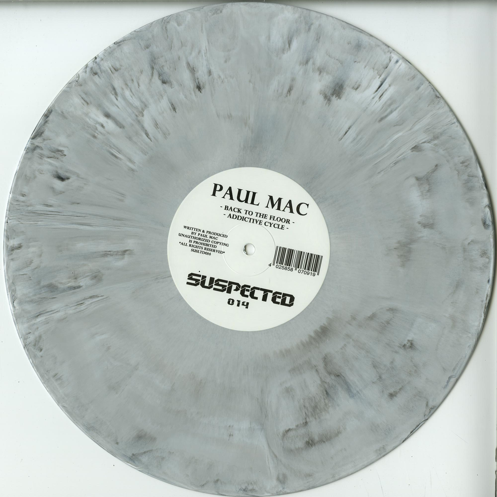 Paul Mac - BACK TO THE FLOOR