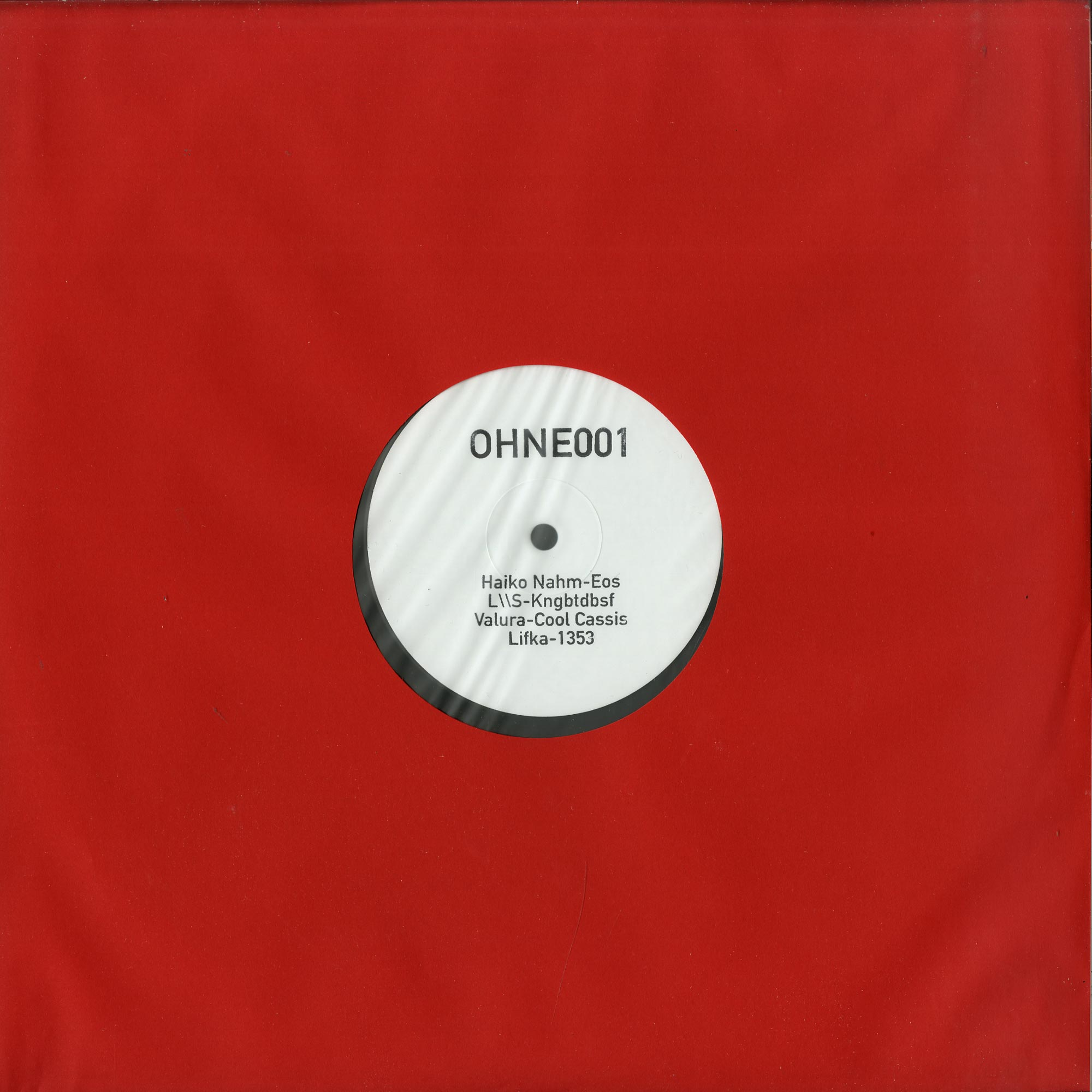 Various Artists - OHNE 001