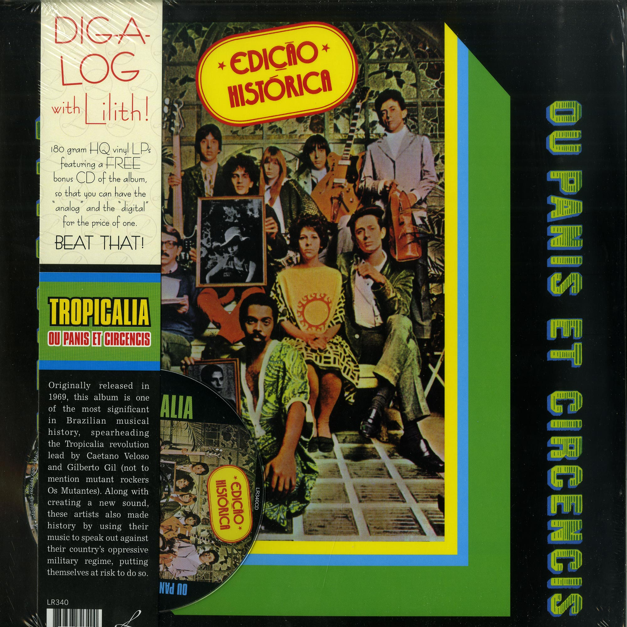 Various Artists - TROPICALIA: OU PANIS ET CIRCENCIS