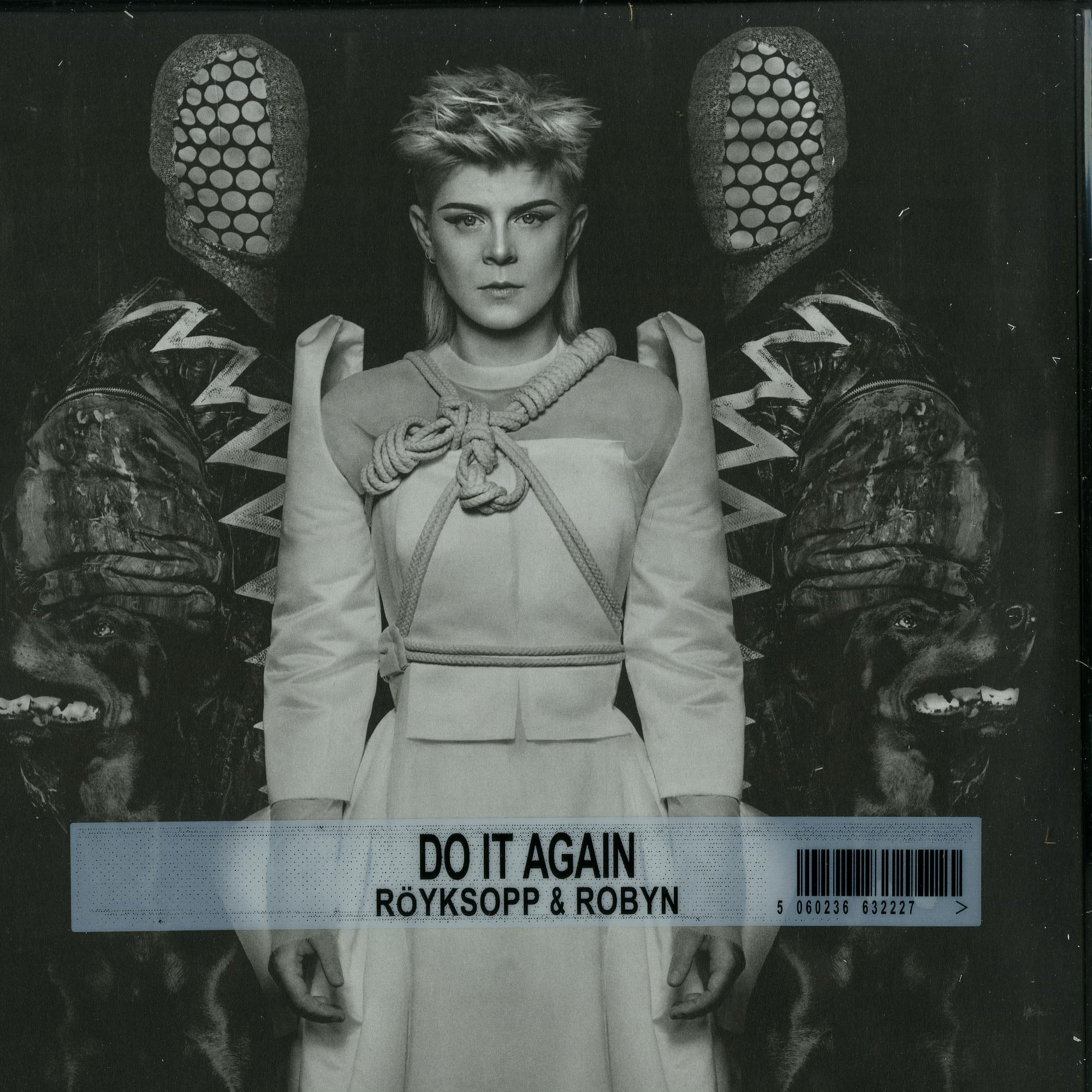 Royksopp & Robyn - DO IT AGAIN - WHITE LP / GATEFOLD SLEEVE