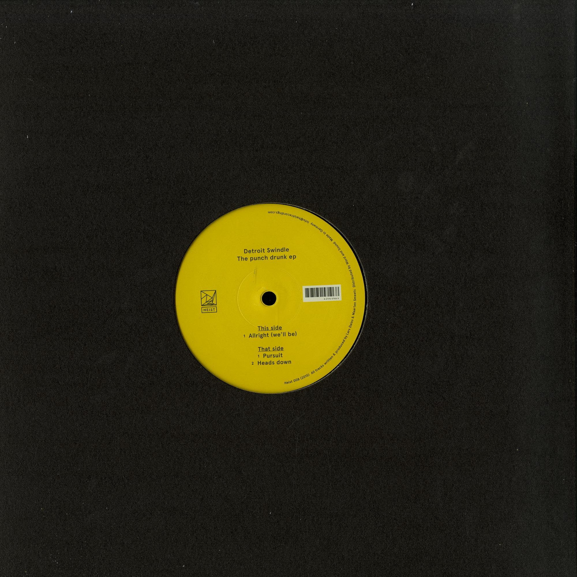 Detroit Swindle - THE PUNCH DRUNK EP