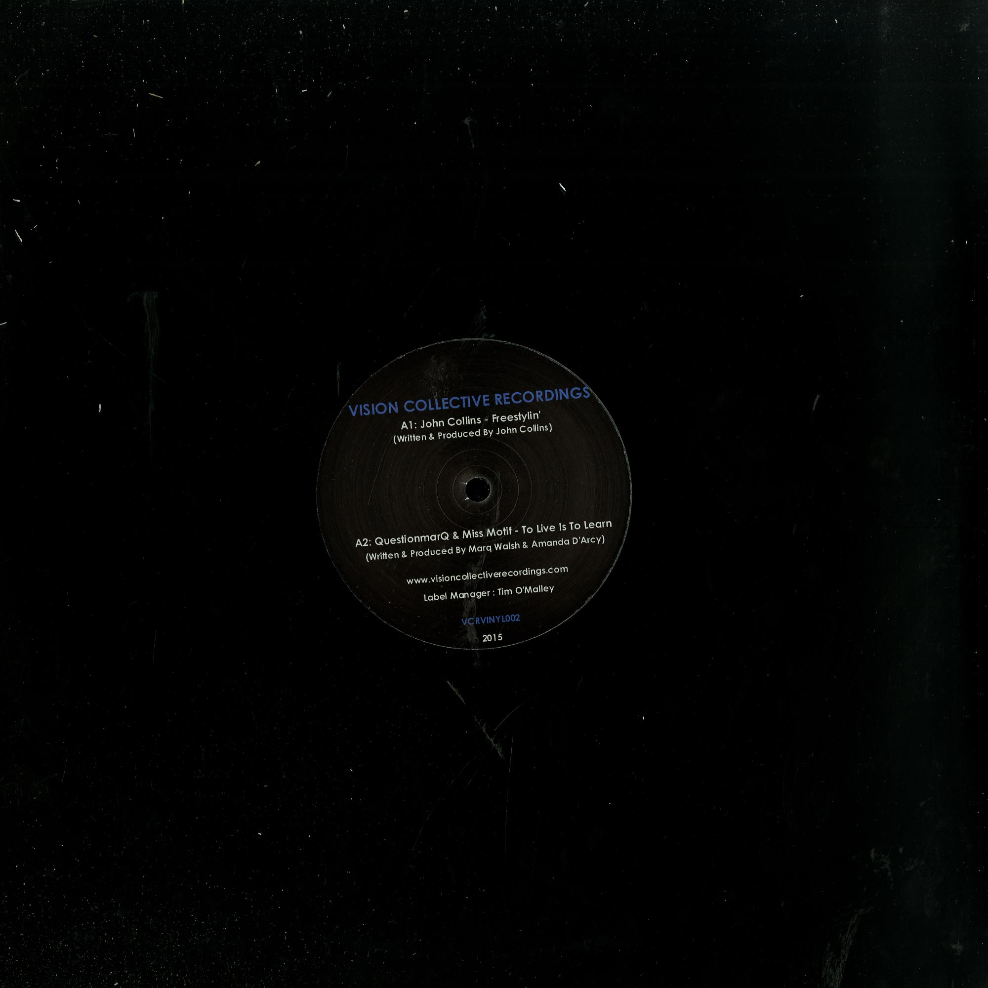 John Collins, Questionmarq, Mick Verma - THE PERCEPTION EP