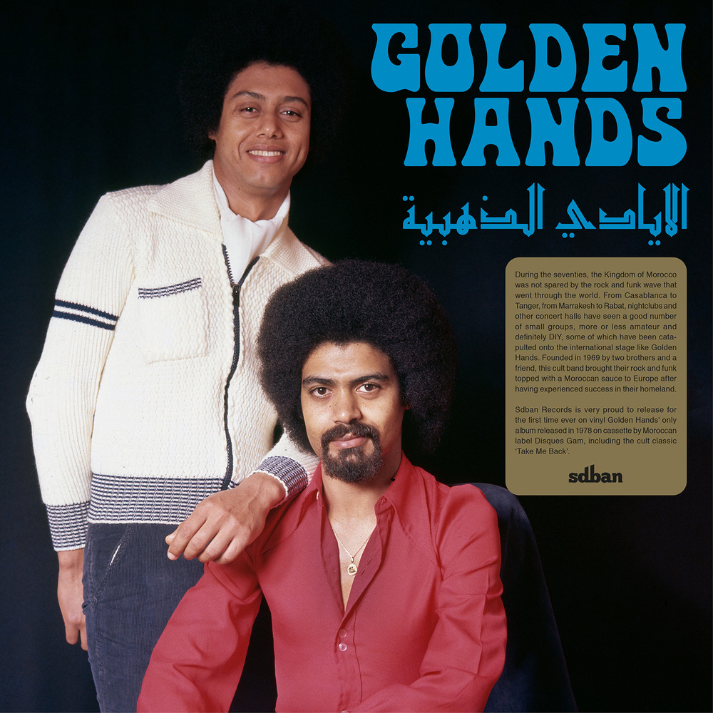 Golden Hands - GOLDEN HANDS LP