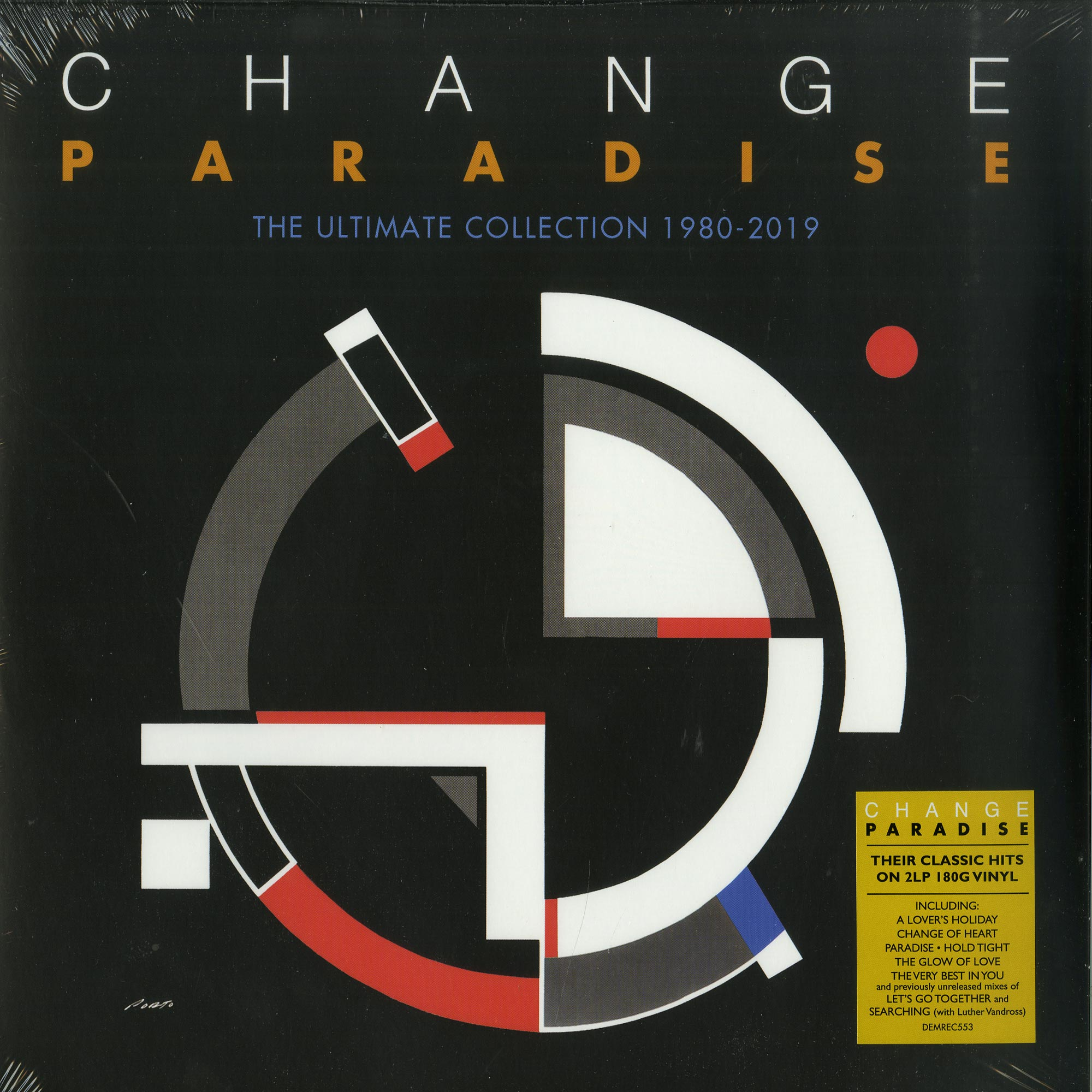 Change - PARADISE - THE ULTIMATE COLLECTION 1980 - 2019