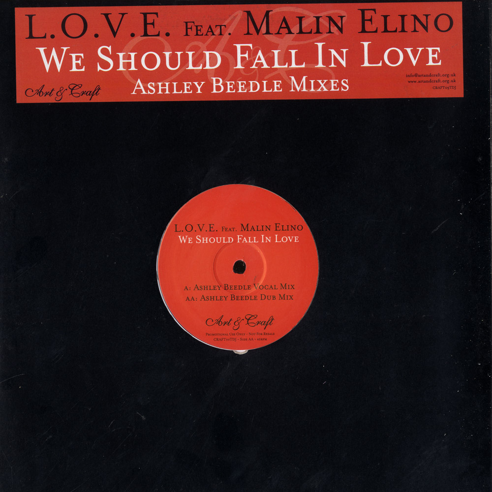 Love ft Malin Elino - WE SHOULD FALL IN LOVE
