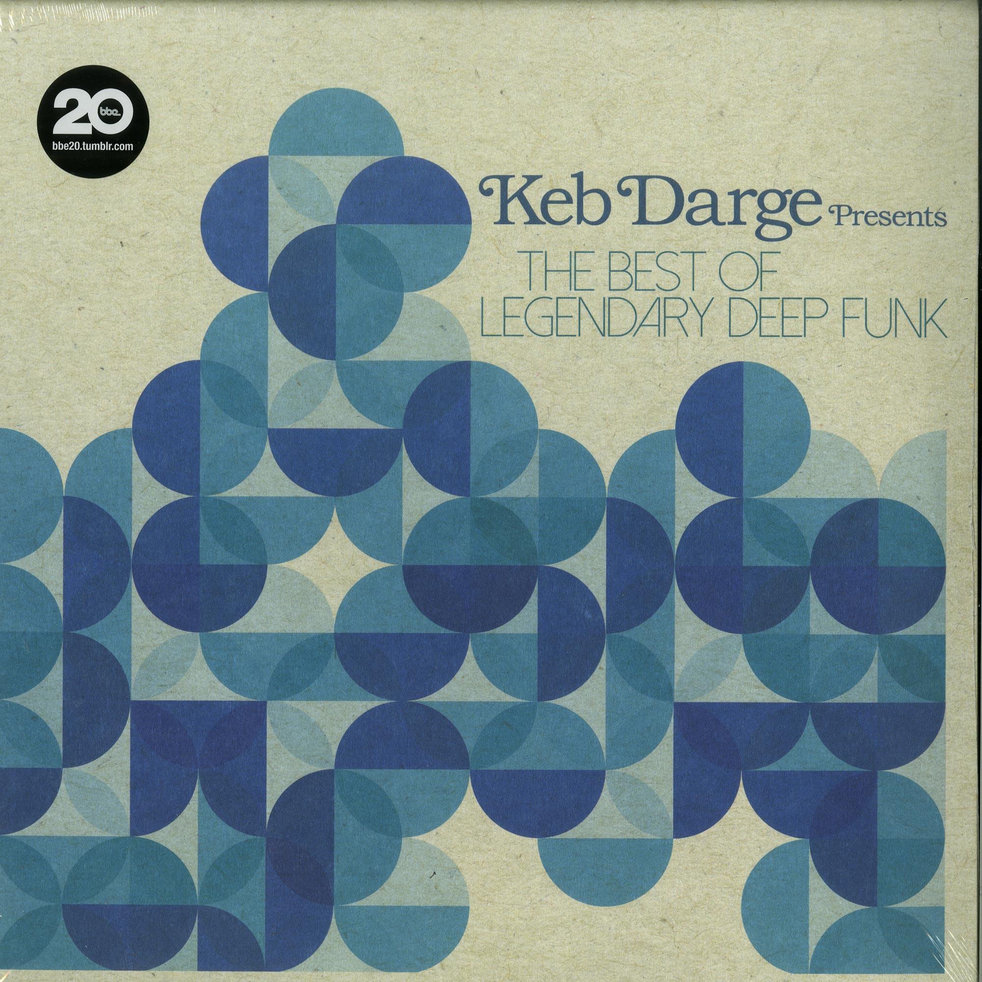 Keb Darge Pres. - THE BEST OF LEGENDARY DEEP FUNK