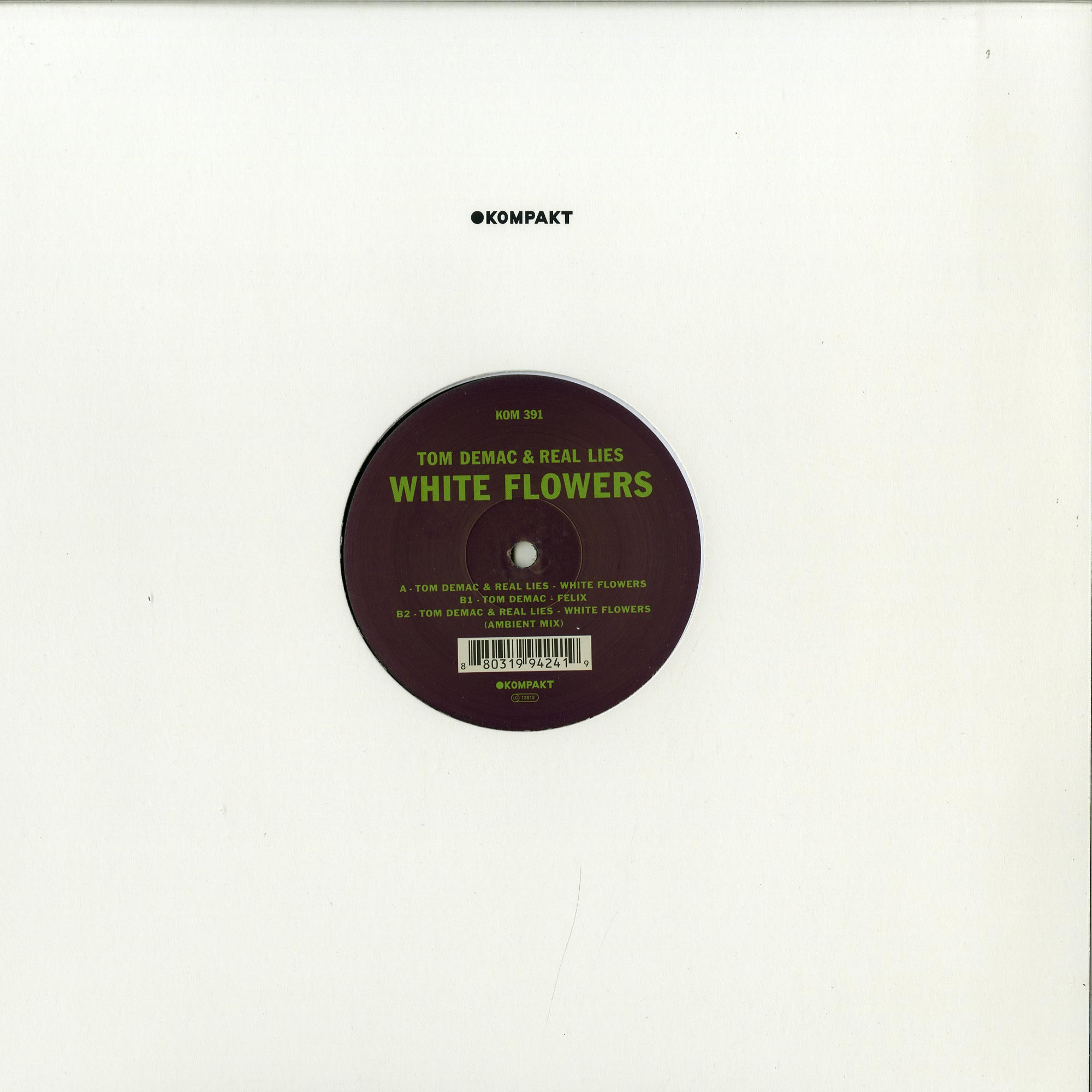 Tom Demac & Real Lies - WHITE FLOWERS
