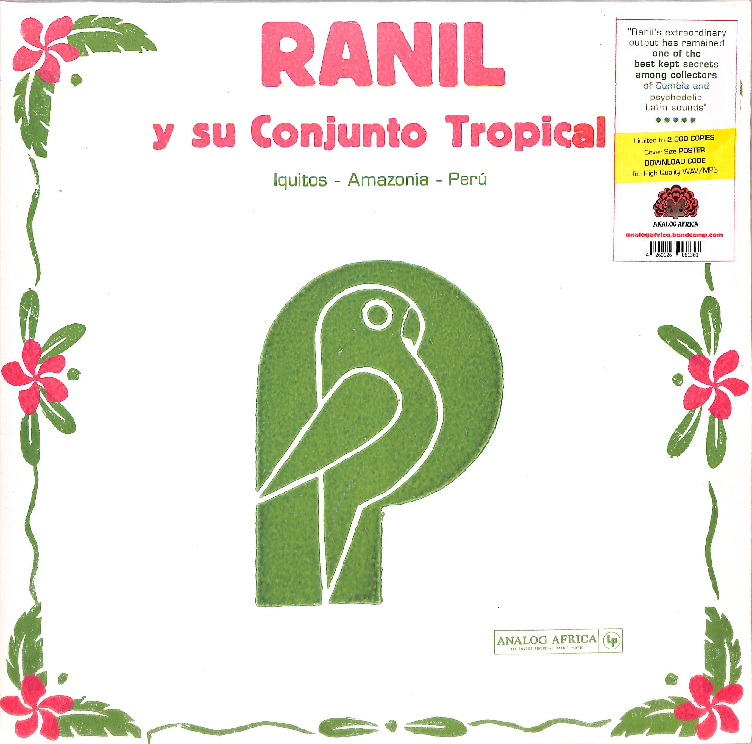 Ranil Y Su Conjunto Tropical - ANALOG AFRICA LIMITED DANCE EDITION NO 11